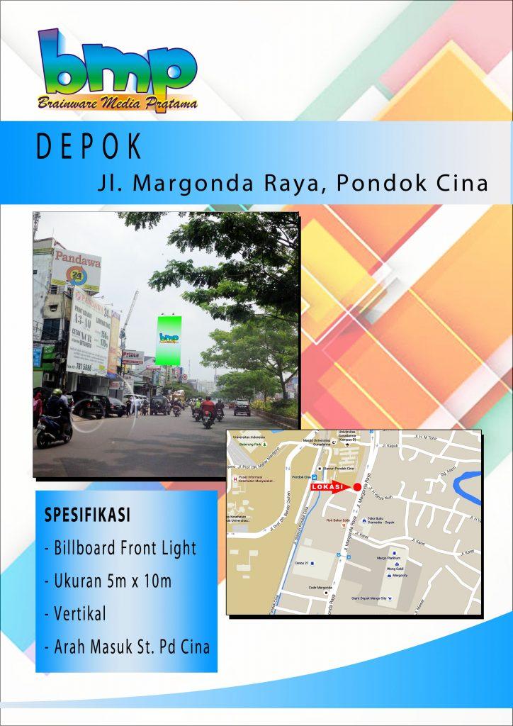 Jl. Margonda Pd. Cina