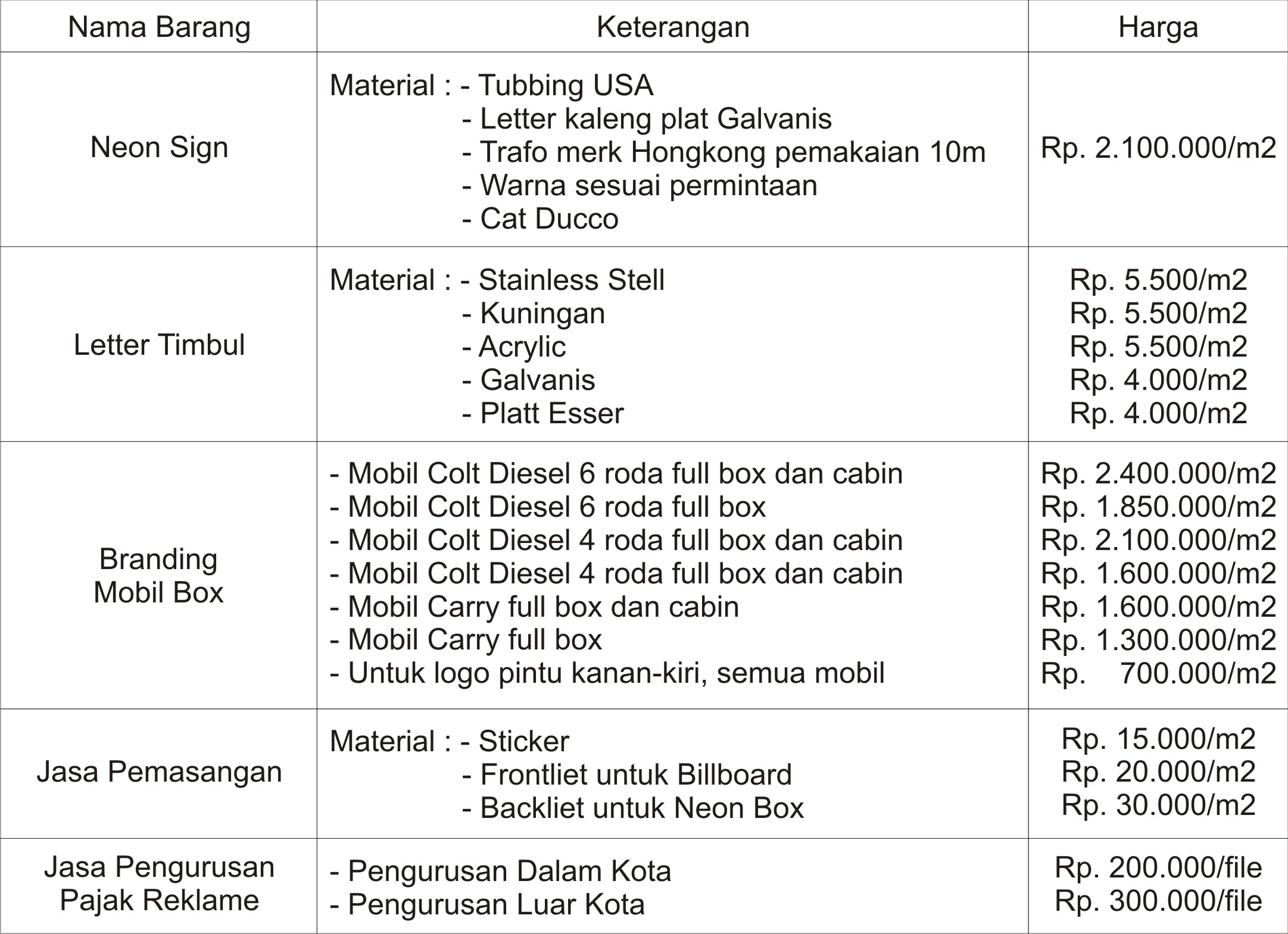 harga-neon-box-billboard-murah